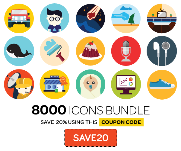 Round Icons Bundle