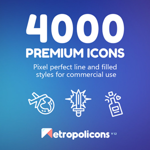 metropolicons 4000 premium icons